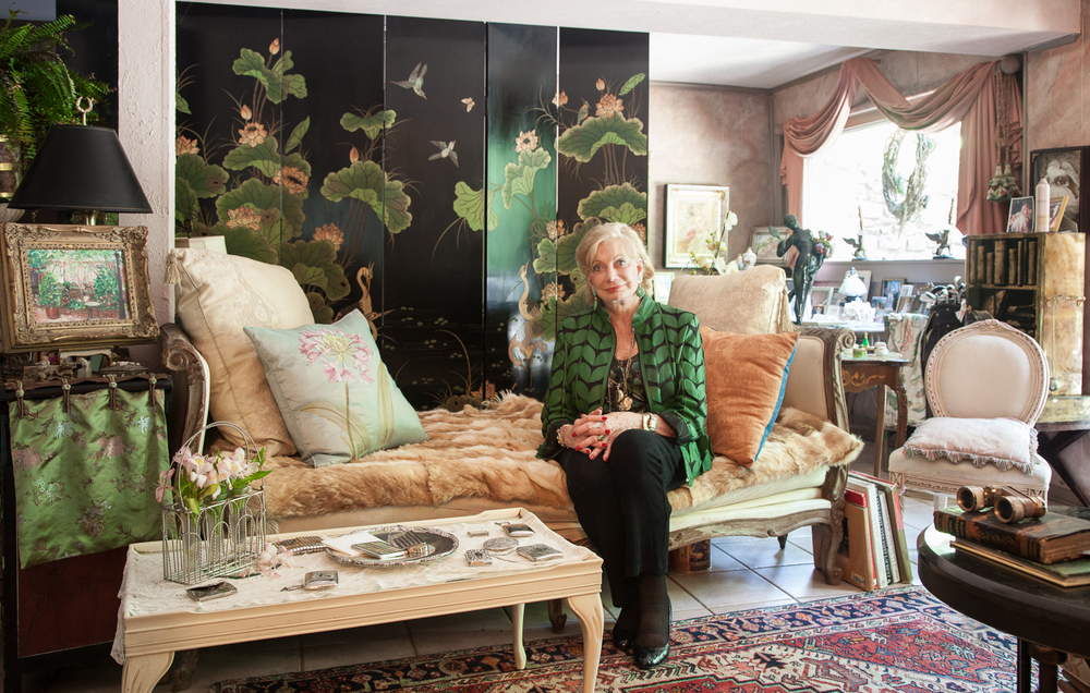 Jeanne Dudley Smith in her atelier.   All photos by  Caroline Allison