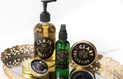 Meet Clary Collection, a Chic Natural Skin-Care Brand Worthy of Vanity Space - Allure.com    2.26.17