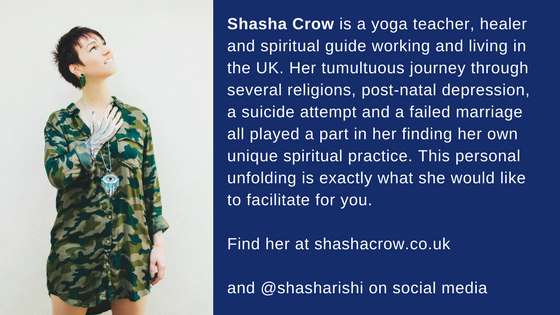 About our guest, Shasha Crow
