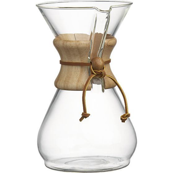 Chemex 8-Cup Coffee Maker from Crate & Barrel