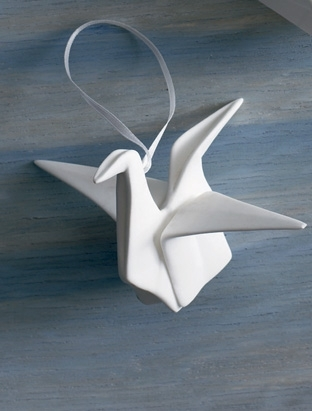 Origami ornament from Bliss Living Home