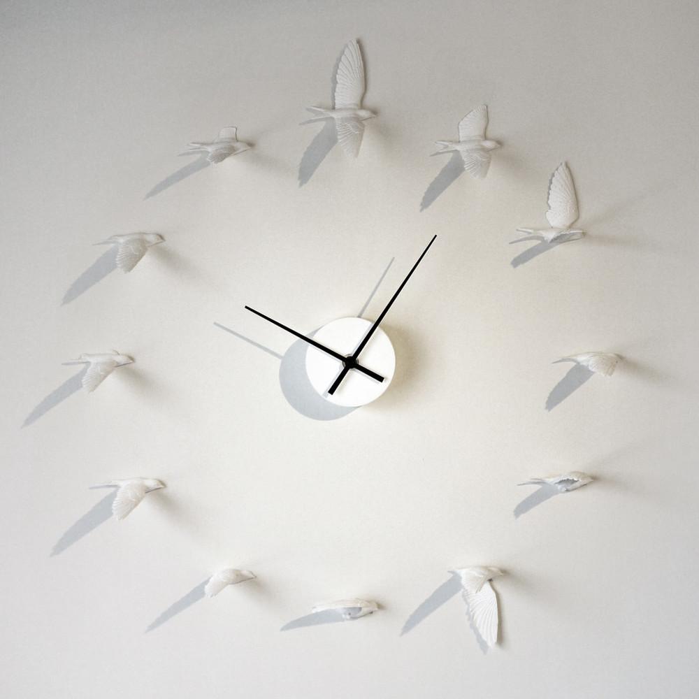 swallow clock_Haoshi