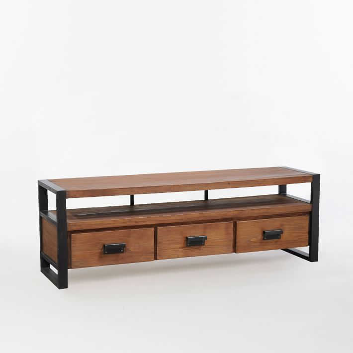 West Elm storage bench