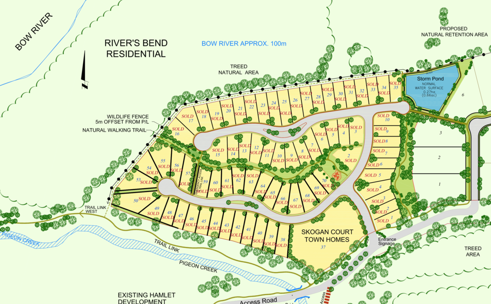 River's Bend Site Plan - Click to enlarge.
