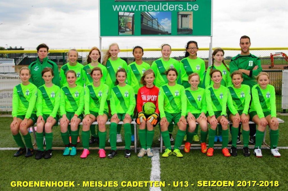 Meisjes cadetten