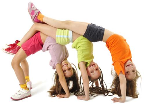 Yoga Poses For Three People Kids Abc News