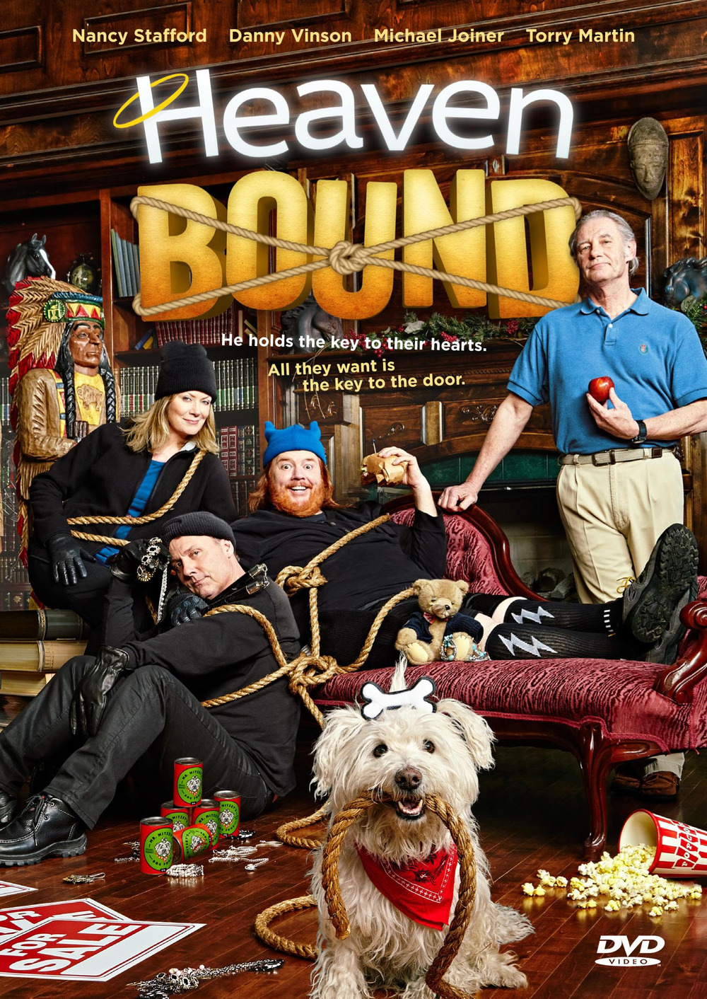 The Official Heaven Bound DVD cover.