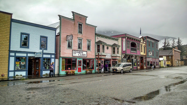 The former mining hub of Skagway, Alaska