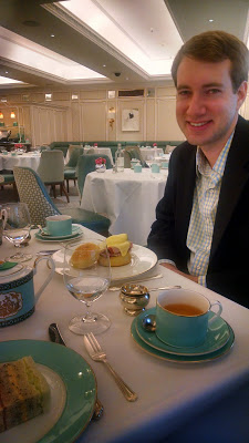 A decadent afternoon tea at Fortnum & Mason in London from 72 Hours to Go