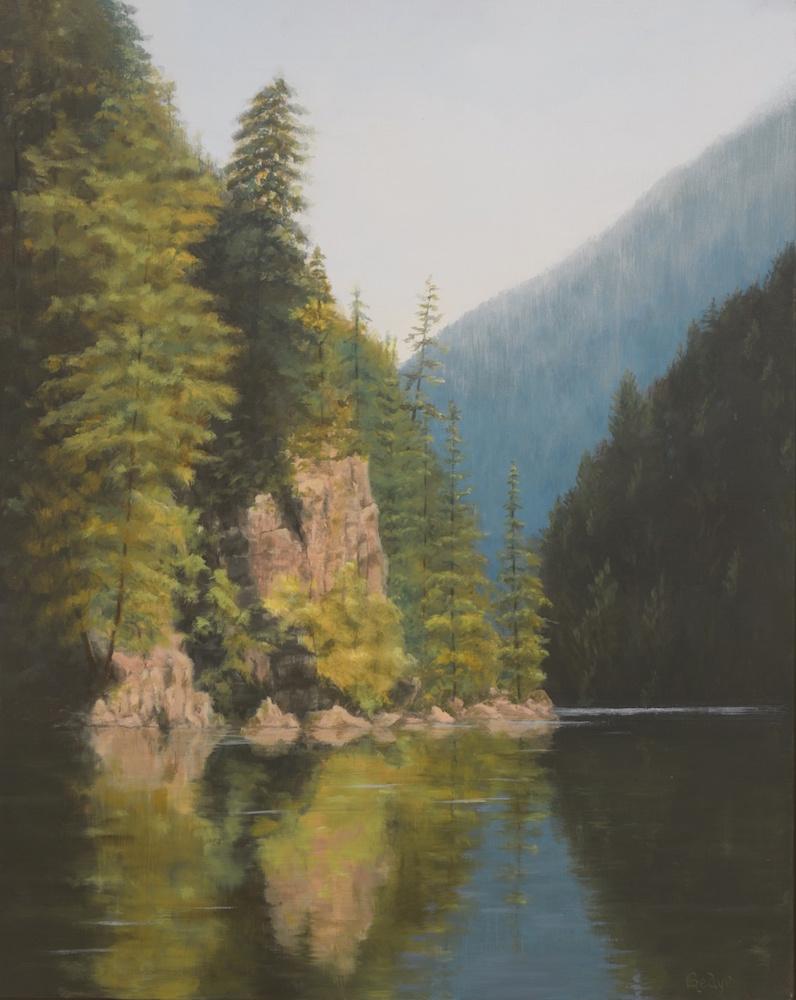 Cascade Reflections (Ross Lake)