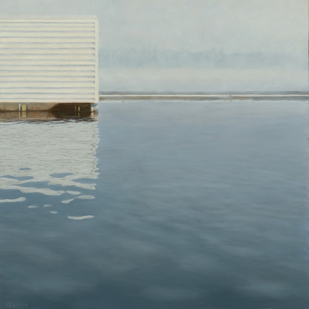 Fog Variations: Boat Shed