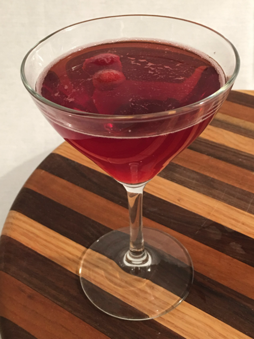 Afternoon Delight - Ingredients:·      2 oz. Lass & Lions Desire vodka·      2 oz. Cranberry juice·      dash vanilla extractCraft: Use a champagne saucer or martini glass.  Combine ingredients in shaker, shake with ice, and strain into glass.  Top with ginger ale.  Garnish with raspberry or luxardo cherry.