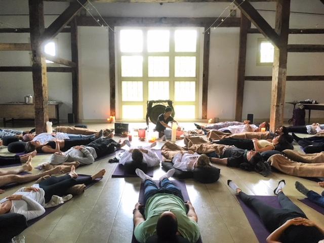 Sound Healing @ Yoga Retreat in upstate NY