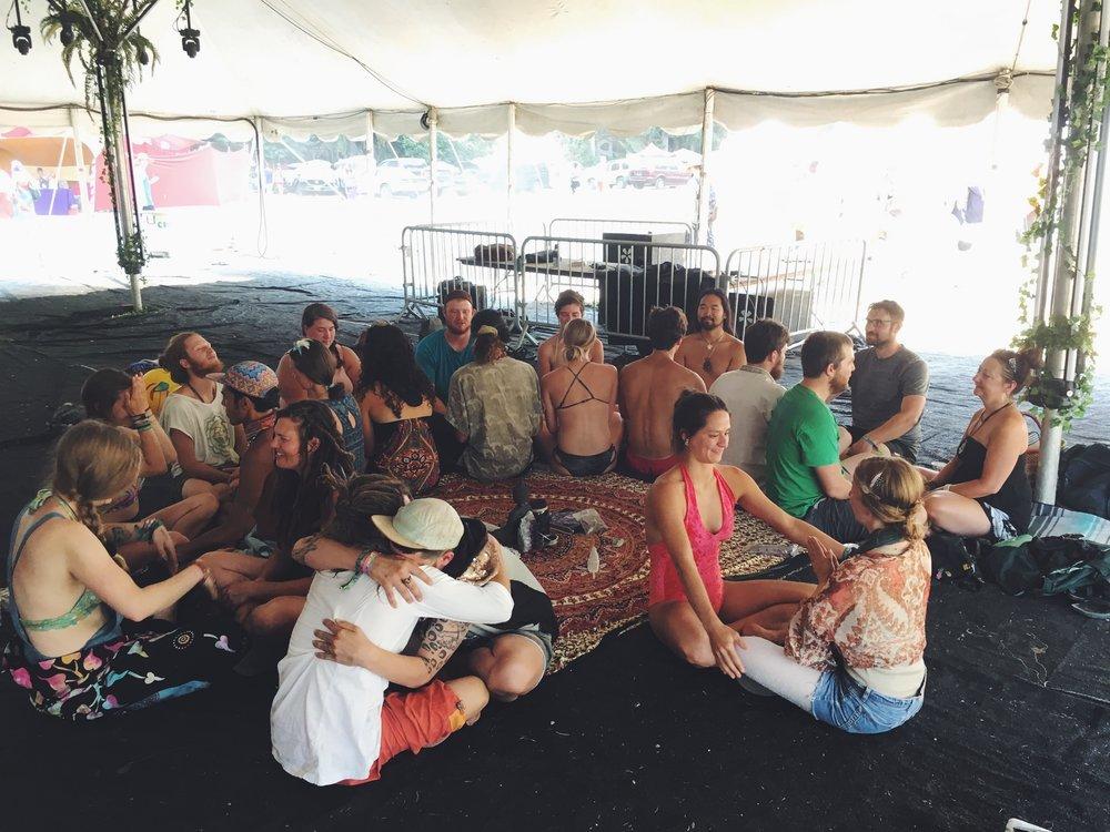 Summer Meltdown Festival 2018 - Sacred Cacao Ceremony