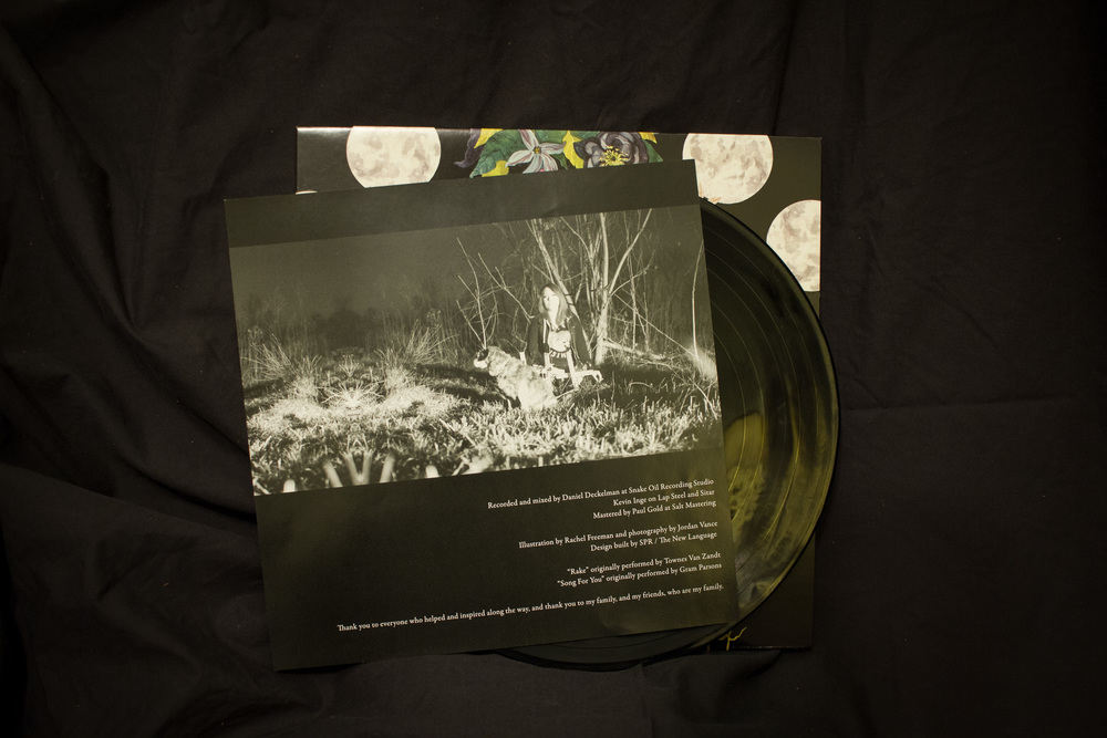 Record insert photography