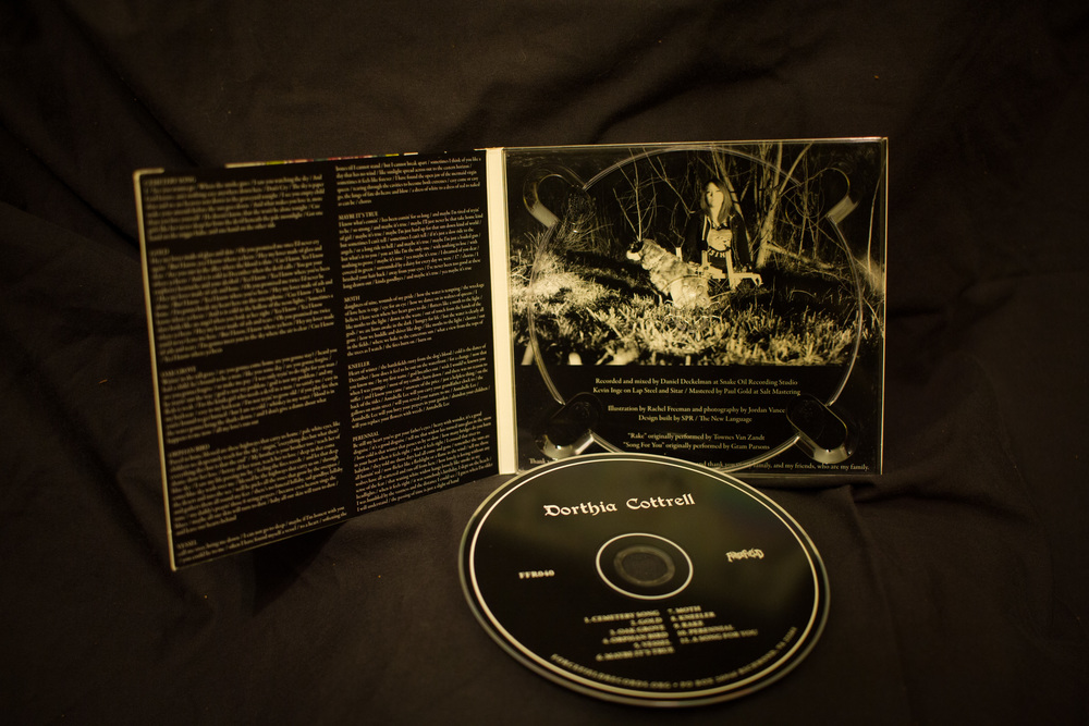 CD inlay photography