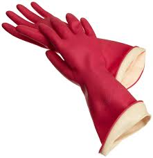 Rubber gloves are your friend for the first day!