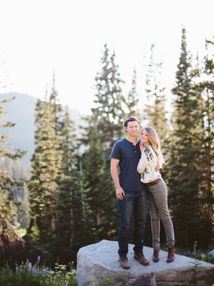 beautiful utah engagment photography