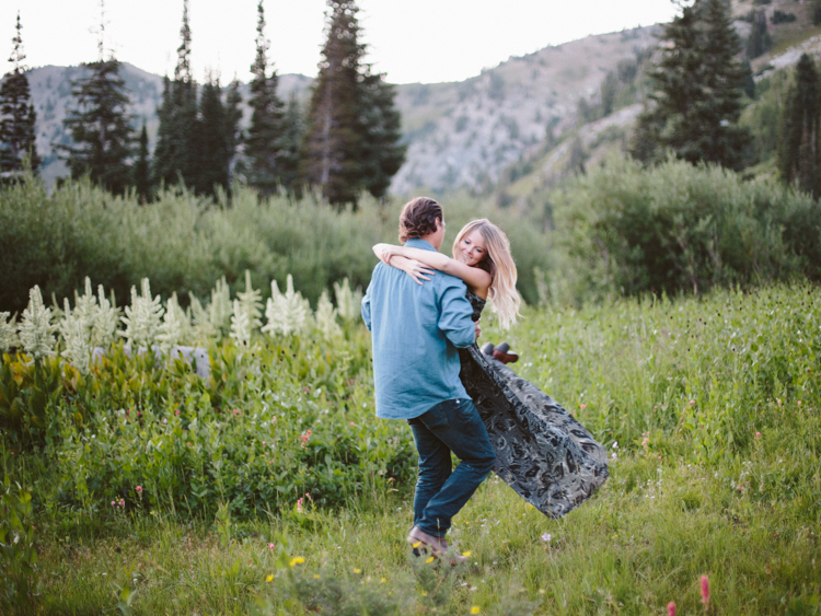 utah engagement photography