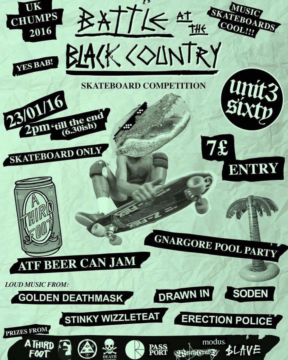 Battle At The Black Country G.D.M / Drawn In 23.1.16