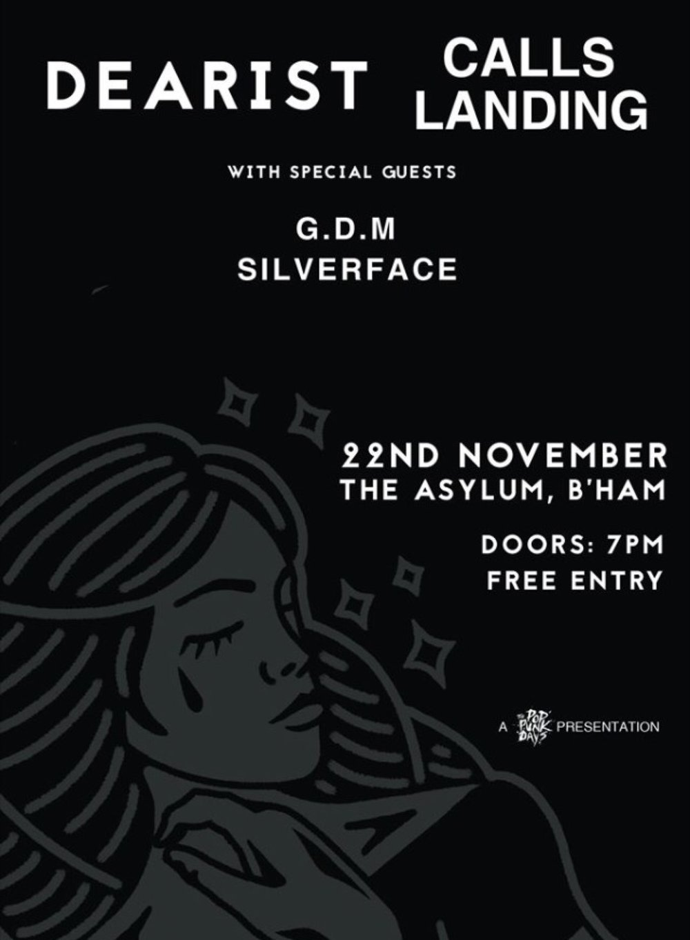Dearest album launch show. W/ Calls Landing + Silverface