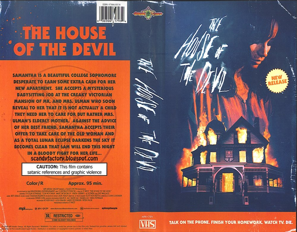 The House Of The Devil. Great Soundtrack
