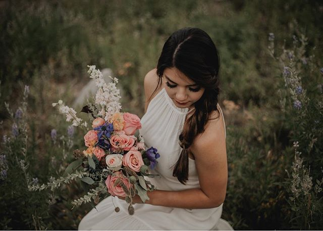 Because today @anchoredimage is shooting another leftovers bouquet. I can't wait to see how it looks! Aren't I the luckiest to have these amazing photographers who make my work look good?!