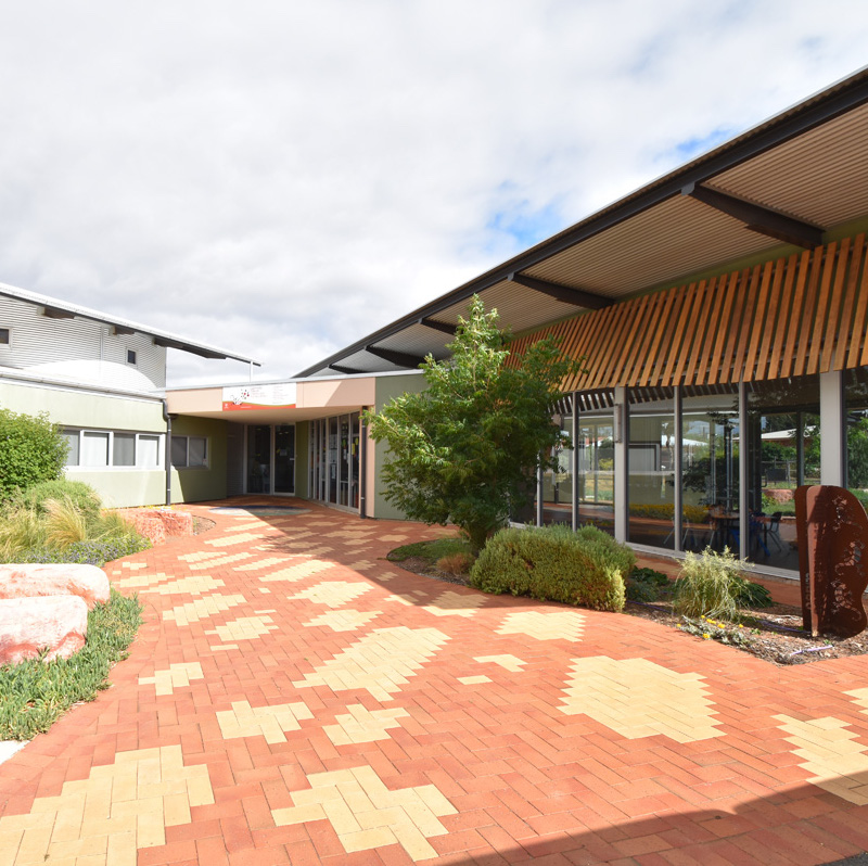 Whyalla Children and Family Centre | Gabmididi Manoo   Incorporating a childcare facility, health clinic and a community centre, the building has local community focus. The Centre incorporates design and landscape strategies that are both innovative and culturally appropriate. Local materials, non structured play equipment and integrated artworks were utilised for the internal and external spaces at Ceduna and Whyalla.