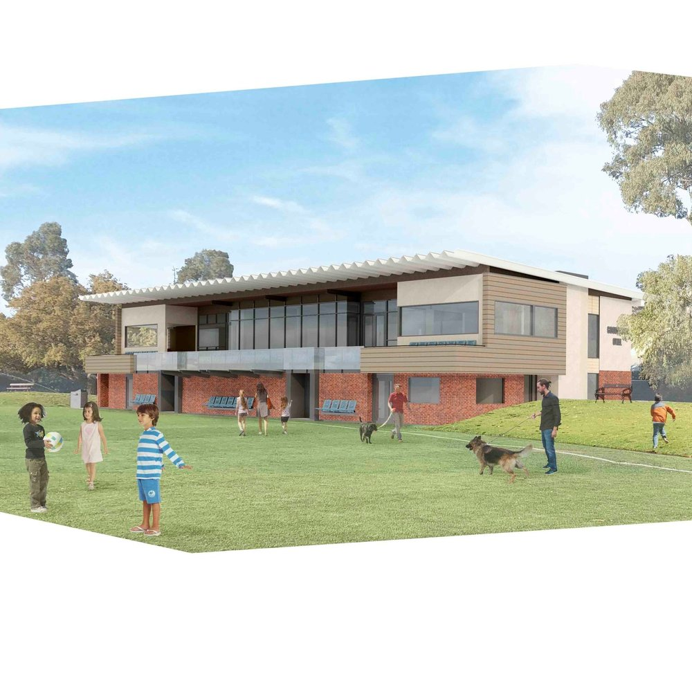 Goodwood Oval | New Grandstand   Modelling and documentation to support Development Approval to replace the existing grandstand at Goodwood Oval.