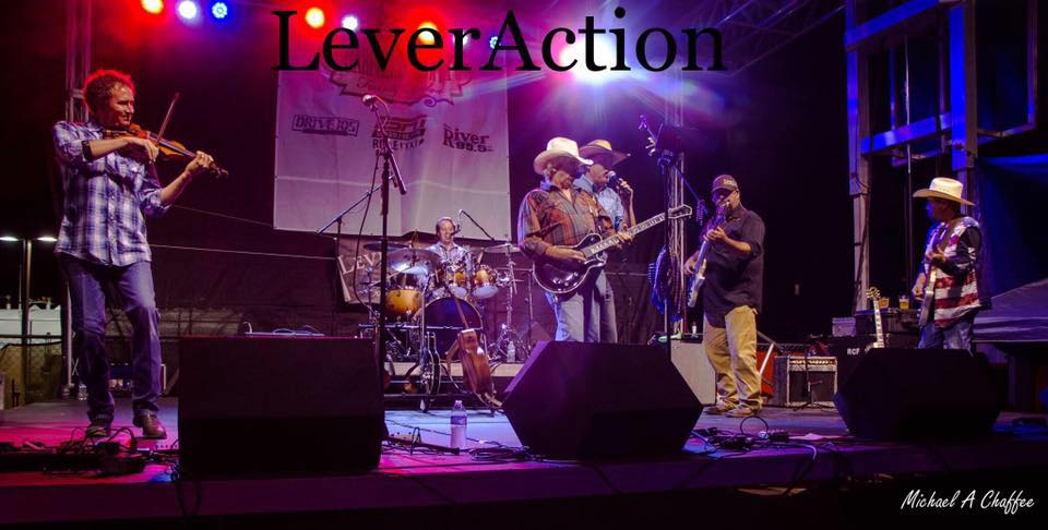 THE BOYS of LeverAction Band set to hit the Jim Beam Main Stage again Friday the 13th!  GONNA BE A CAN'T MISS, DANCIN, SWINGIN, DRINKIN, KIND OF NIGHT!