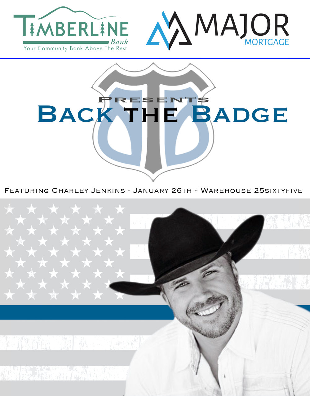 Back the Badge Grand Junction is set to for another great fundraiser for a great cause! Get your tickets today!  3 Bands, Great Food all for a GREAT CAUSE!