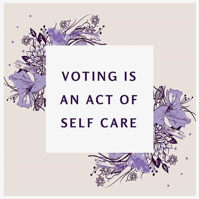 #Repost @amie.roe.chadwick ・・・ Voting is just one way that we create the world we want to see. It's an act of love for the world that we live in, but most importantly, it's an act of love for ourselves. When we vote, we speak up for what we need and want. . When you cast your ballot today, remember how powerful you really are in creating the world around you. Remember that your embodied actions matter and have a real effect on your well-being. What more can you be doing to create the world you want to see? . . . . . . #vote #getoutthevote #election2018 #electionday #mentalhealth #selfcare #spirituality #spiritualgrowth #power