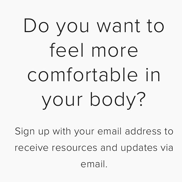 My new website is rolling out in phases, so please sign up to my email list if you want to be kept in the loop when new resources become available. You can unsubscribe any time and I typically send one email per week. I'd love to be I touch with you! #mindfulmovement #yourstorymatters #vulnerabilityisstrength #recoverywarriors