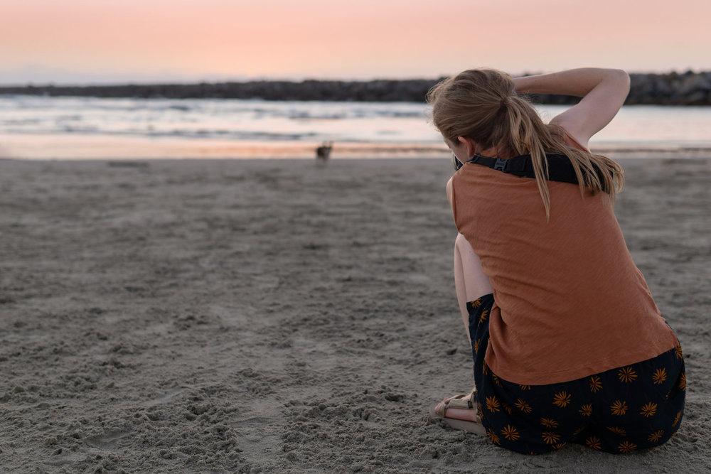 Ocean Beach Dog Beach | San Diego, CA |  Photo by Andrew Salzwedel