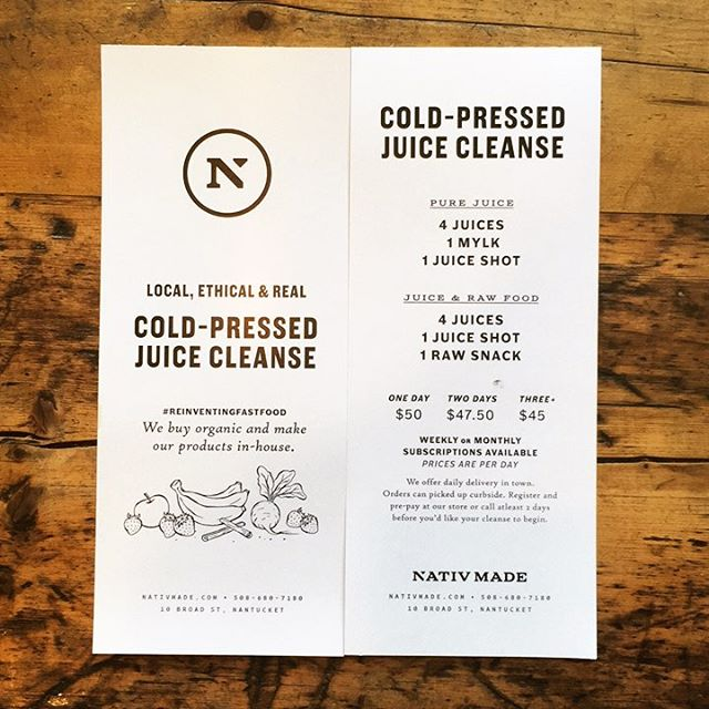 Over-indulge this summer? No worries, our juice cleanse program has you covered! #detox #juicecleanse #reboot #summer #ack #islandsummer #nantucket #juice #coldpressed