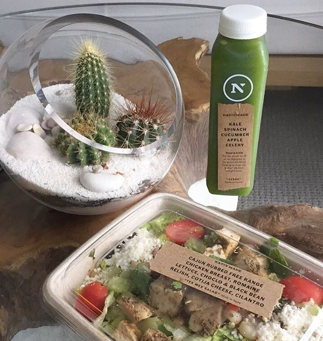 It's all green, healthy and delicious with #Nativmade and @1homessb  Eat clean, organic and local with all our ethical and responsible ingredients.  #reinventingfastfood #1hotels #miamiorganic #southbeach