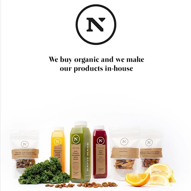 Stand by your decisions and ethics around food. Since day one over 5 years ago we were always based on organic, old fashioned farming, plant based compostable packaging, innovative grab and go 'fast' food. We never cut corners so that you don't have to either. #reinventingfastfood #nativmade #nantucket #southbeach #boston