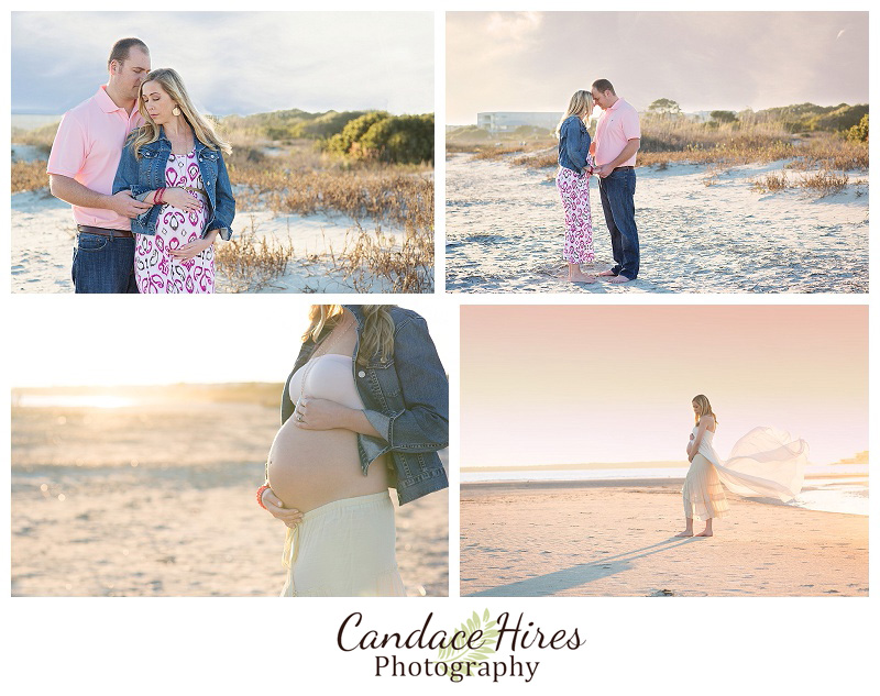 St. Simon's East Beach Maternity Session 2