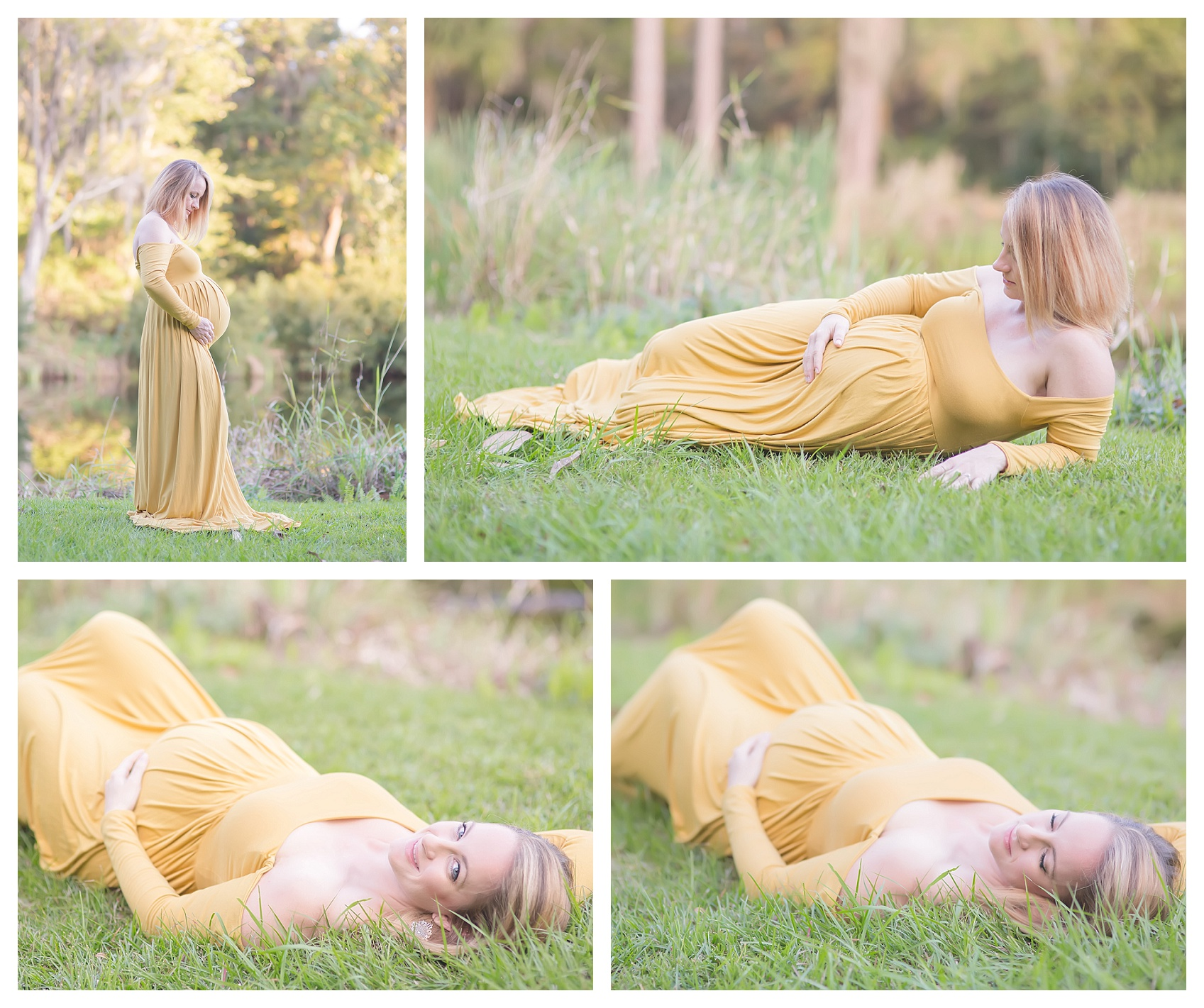 Golden isles maternity with stunning maternity gown