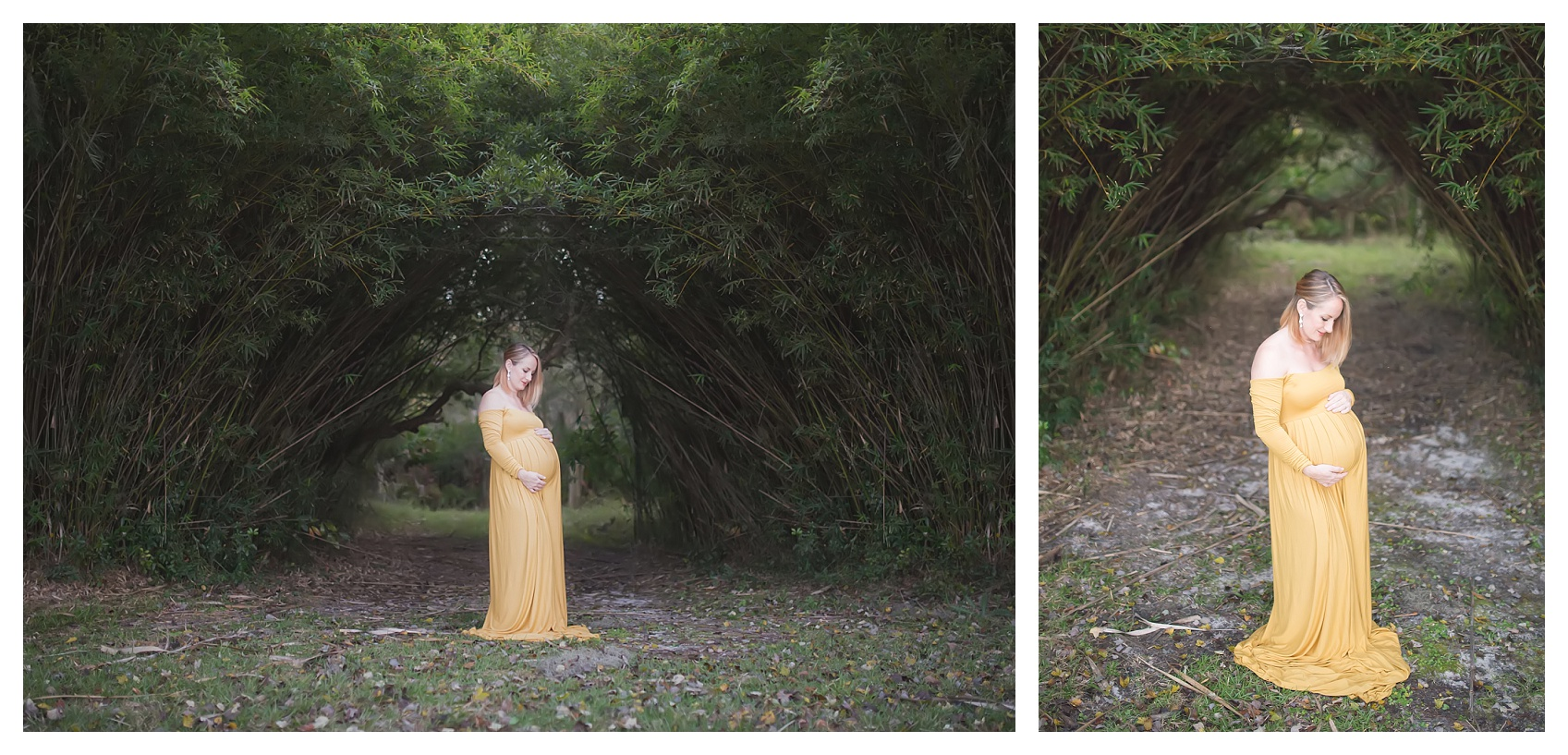 stunning maternity gown session on st simons island