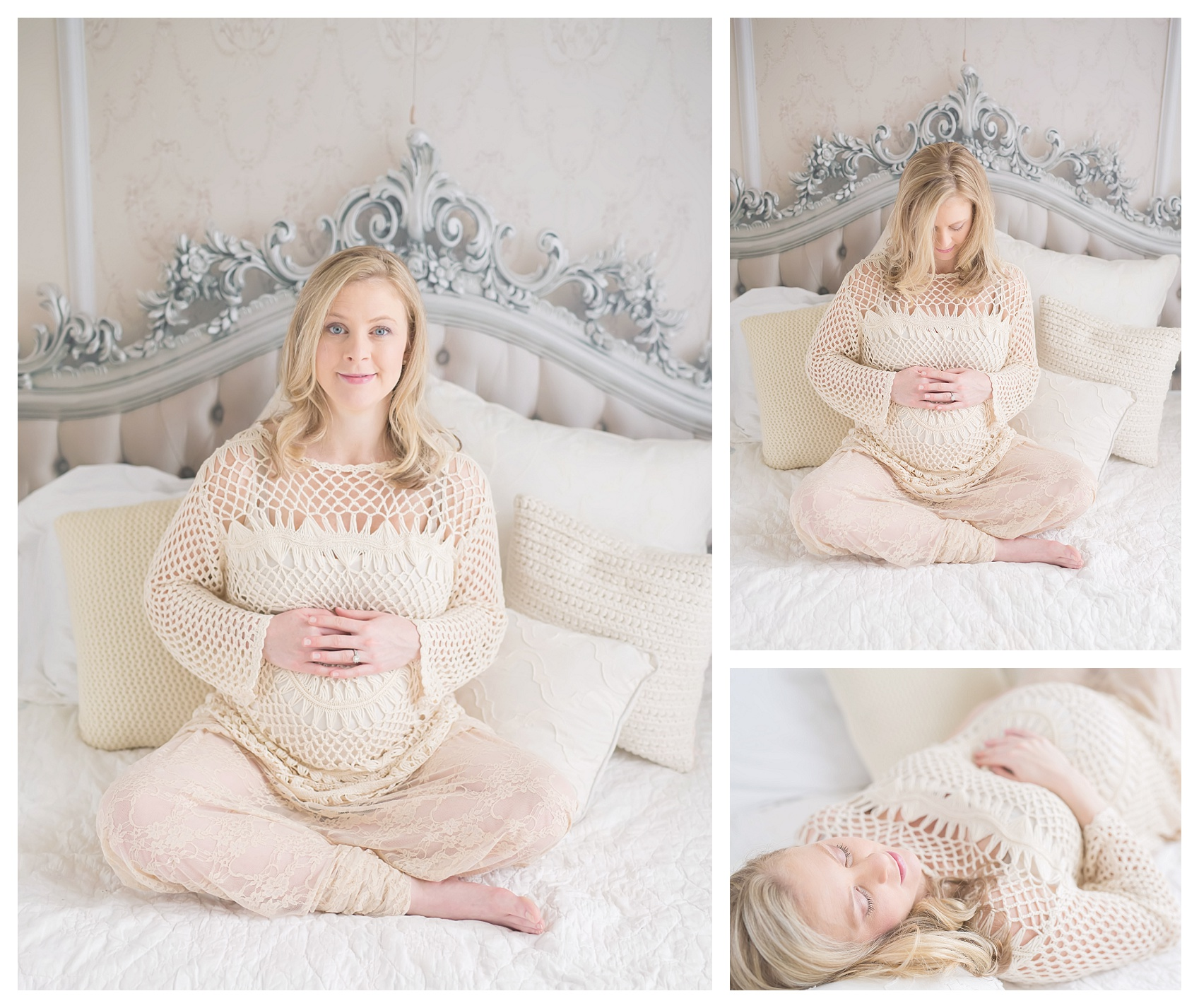 golden isles maternity session