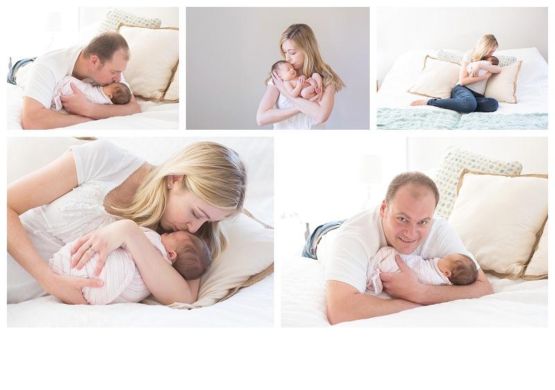 Brunswick georgia lifestyle newborn session