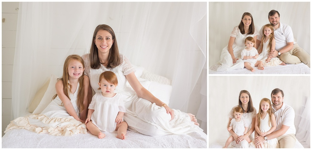st simons island newborn & family session | candace hires photography