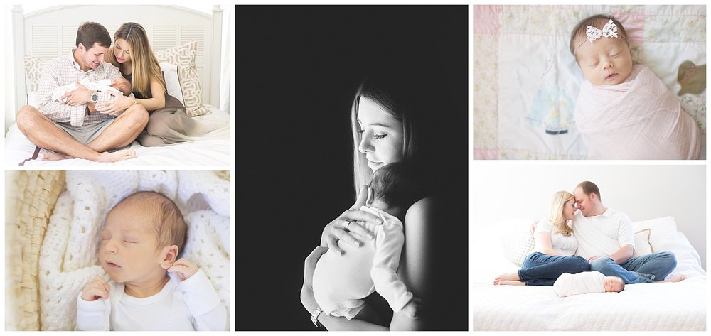 st simons island at home newborn lifestyle photography | candace hires photography | www.candacehiresphotography.com