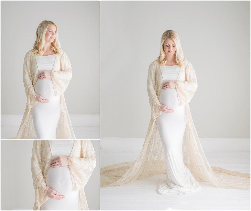studio maternity photographer | candace hires photography | www.candacehiresphotography.com