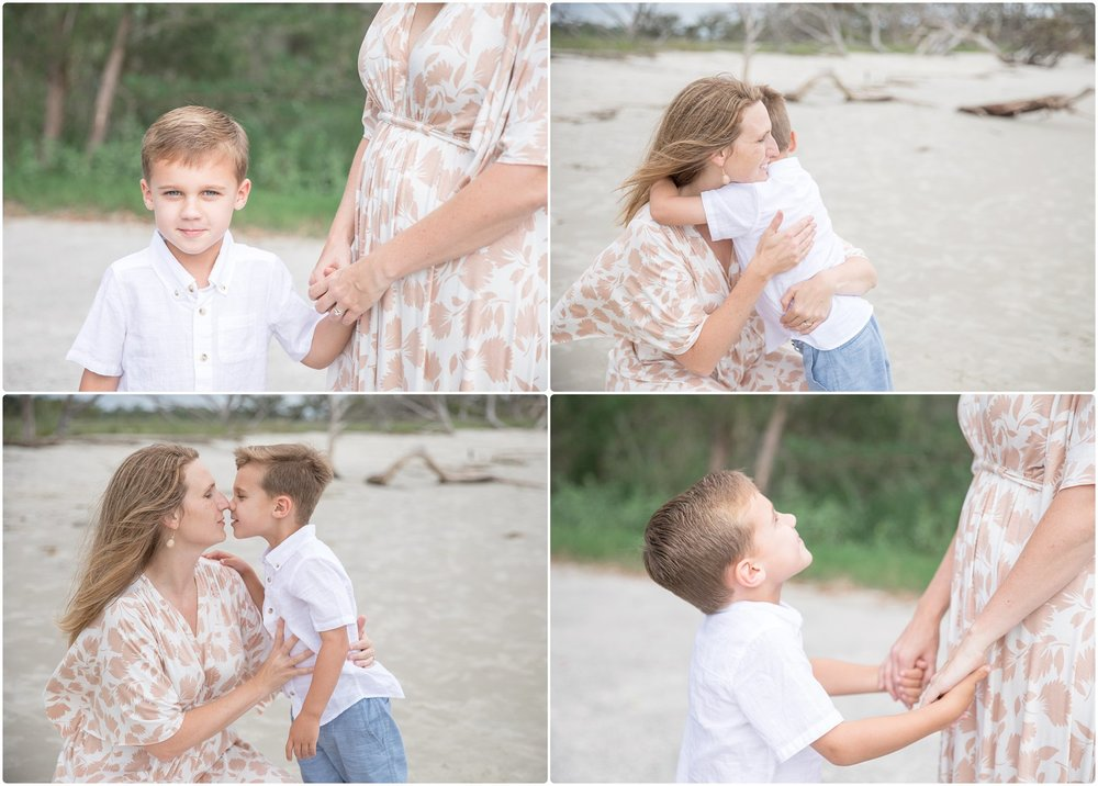 Candace hires photography | www.candacehiresphotography.com | jekyll island beach session
