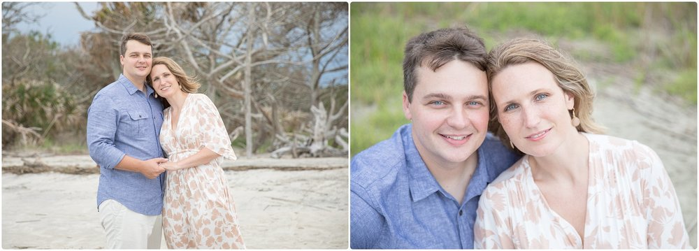 Candace hires photography | www.candacehiresphotography.com | couples session jekyll island
