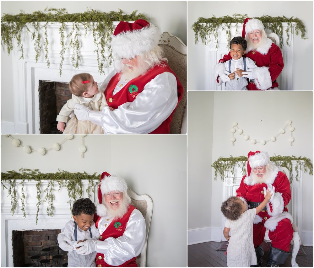 santa sessions in st simons island | candace hires photography | santa