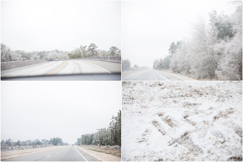 south georgia snow | candace hires photography | www.candacehiresphotography.com