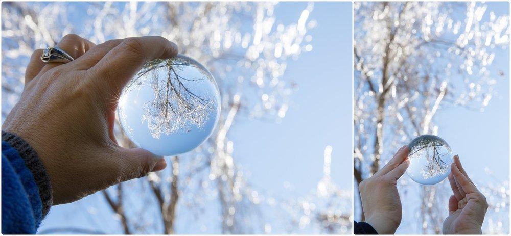 lensball ice tree south georgia